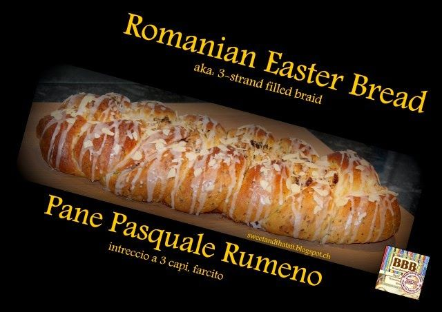 Sweet and That's it: Romanian Easter Bread - Pane Pasquale Rumeno