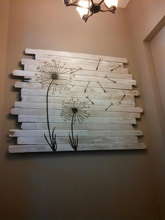 Pictures Of Diy Wall Decor : Unique diy wall art ideas on