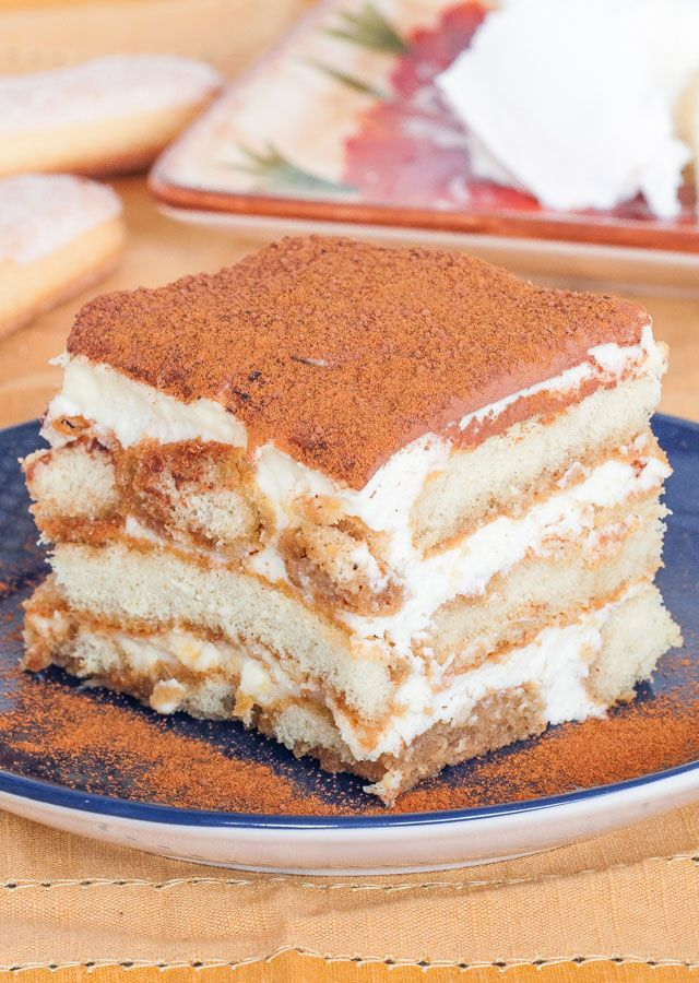 Easy Tiramisu - The easiest Tiramisu you'll ever make, with step by step photo instructions.