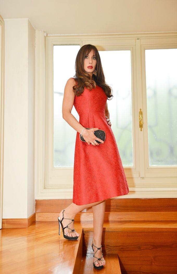#outfit #dress #red #chic #look #fashion #fashionblog  #dolcegabbana #renécaovilla #itgirl www.angelswearheels.com