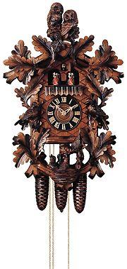 Hones Cuckoo Clock with Owls