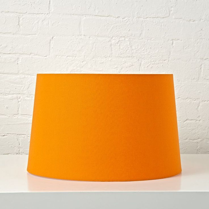 Shop Mix and Match Orange Floor Lamp Shade.  With its understated, easy-to-coordinate style, this orange floor lamp shade is exceptionally versatile and just a bit brilliant.