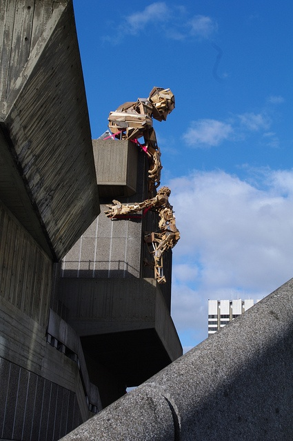 Recycled Giants. Taken at the Southbank, London