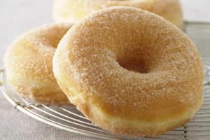 Easy Donuts. |  Not bad but I like yeast donuts better.
