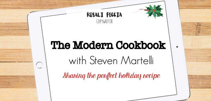 Rosali Peccia - The Modern Cookbook with Steven Martelli #Cookbook #cooking #recipe #iPad #tech #modern #Logiix