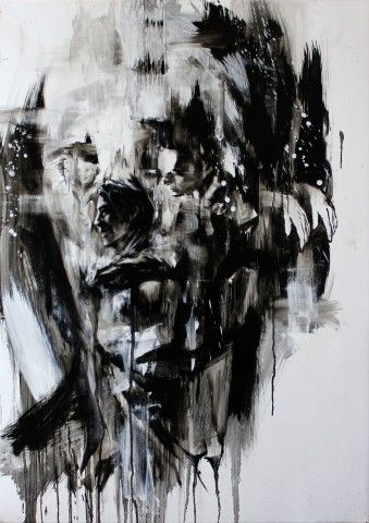 Tom French, duality, painting