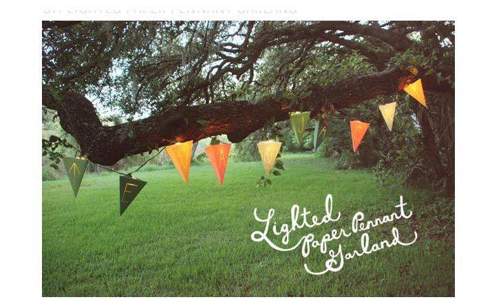 ガーデンウエディングの飾り付けアイテムの作り方 | 結婚式 DIY&ハンドメイド作り方
