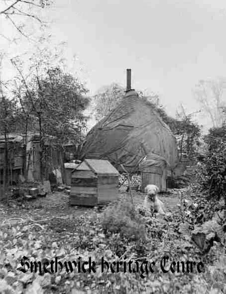 Gypsy camp Thimblemill Road