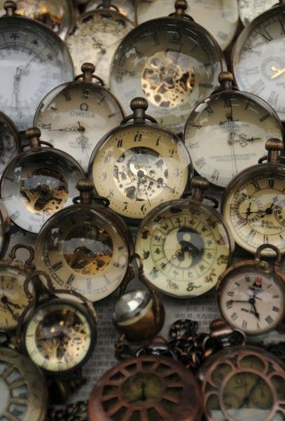 ballerina67: Vintage Time Keepers