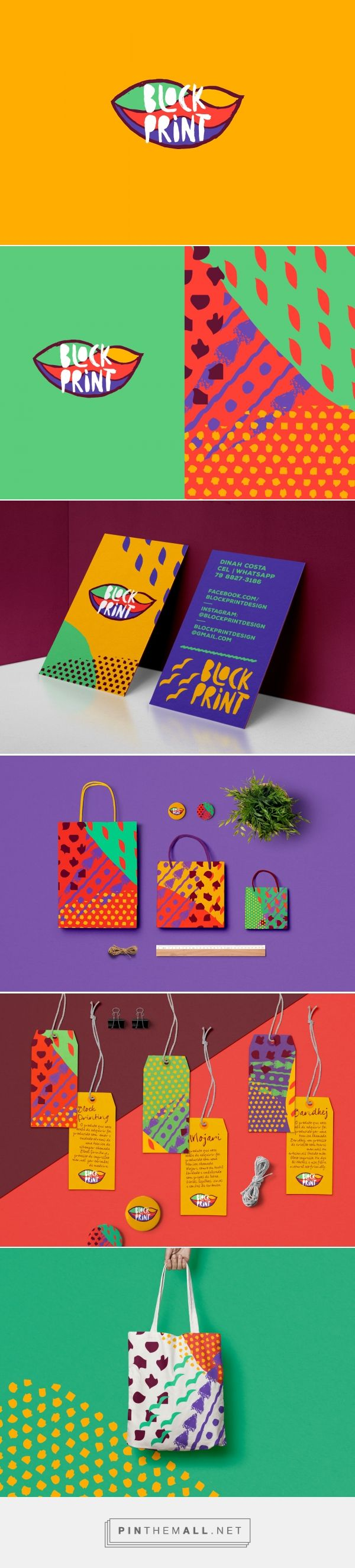 Block Print Womans Accessory Branding by Will Nunes | Fivestar Branding Agency – Design and Branding Agency & Inspiration Gallery