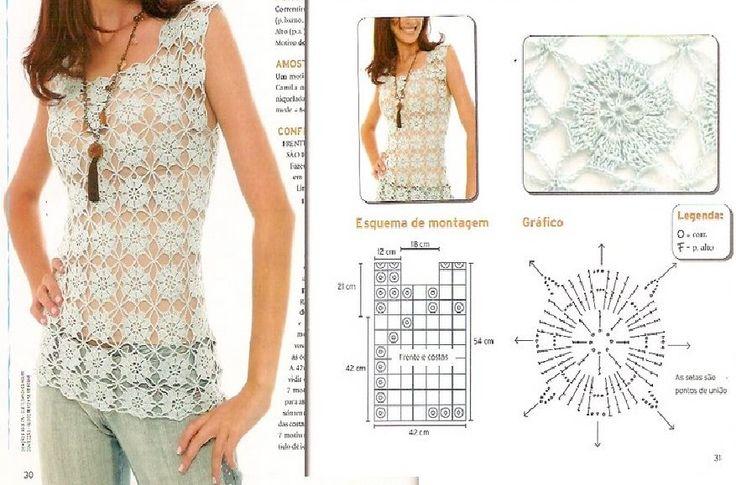 Mejores 112 imágenes de Crochet en Pinterest | Artesanías, Tejido y ...