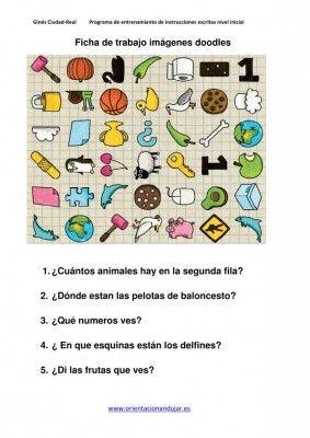 Programa de entrenamiento para descifrar instrucciones escritas para niños con dificultades de comprensión - Orientacion Andujar