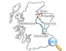 Tour Scotland from Edinburgh: Speyside Whisky Trail 3 Day Tour