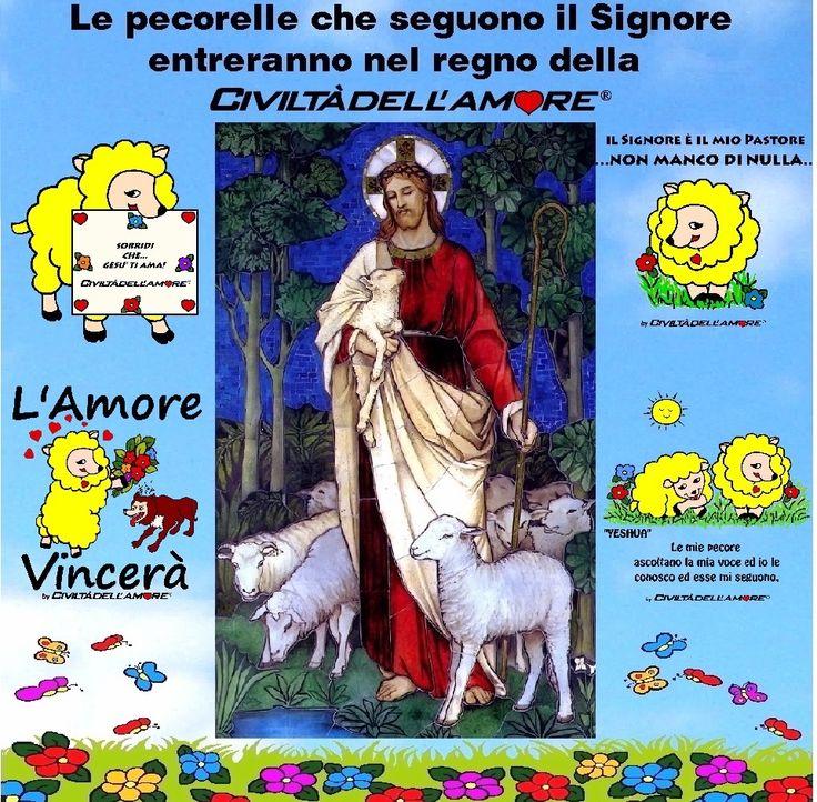 Indossa una t-shirt con la pecorella e segui il Signore, entrerai nell'ovile del Regno della Civiltà dell'Amore! www.civiltadellamore.net Le pecorelle che vedi nel post le trovi qui: http://www.eshirt.it/ts/5113ba355813a/1405139847C1 http://www.eshirt.it/ts/5113ba355813a/15013017DF95 http://www.eshirt.it/ts/5113ba355813a/13022693739D http://www.eshirt.it/ts/5113ba355813a/15112560B7A4