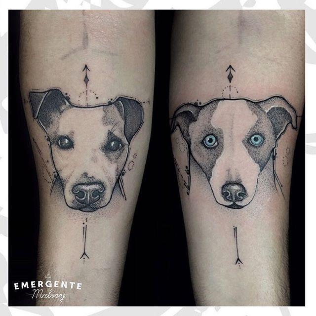 Cuantos amantes de sus mascotas tenemos por acá 🙋🏻♂️🙋🏻 les mostramos un hermoso tatuaje por @malorymorenoart #dotworktattoo #dotwork #bngtattoo #laemergentecol #lanuevaemergente #tattoo #tatuaje #dog #dogtattoo #perro #tatuajeperro #pet #petlover #pettattoo