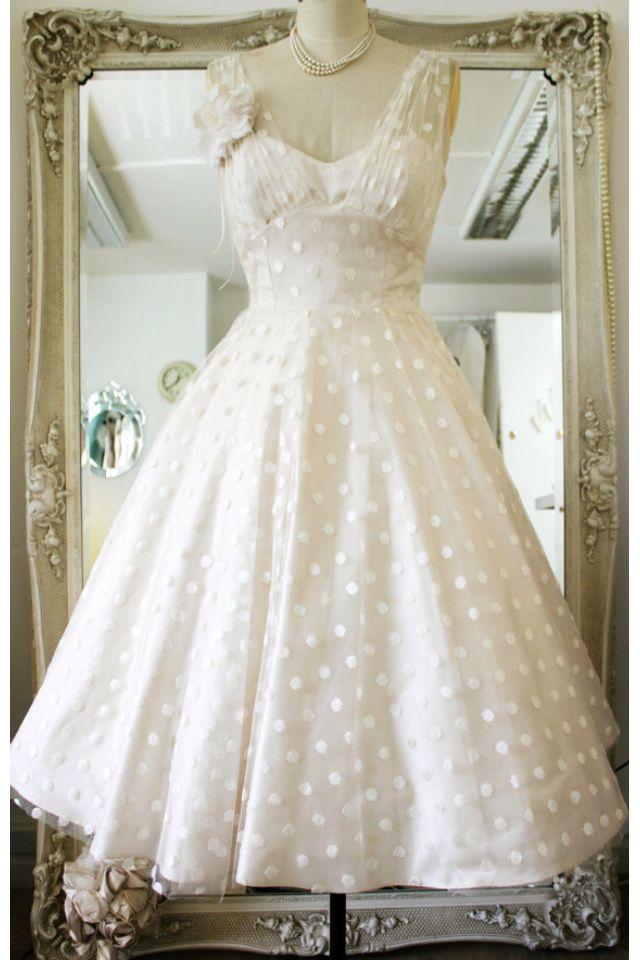 Vintage Halter  Wedding Dress