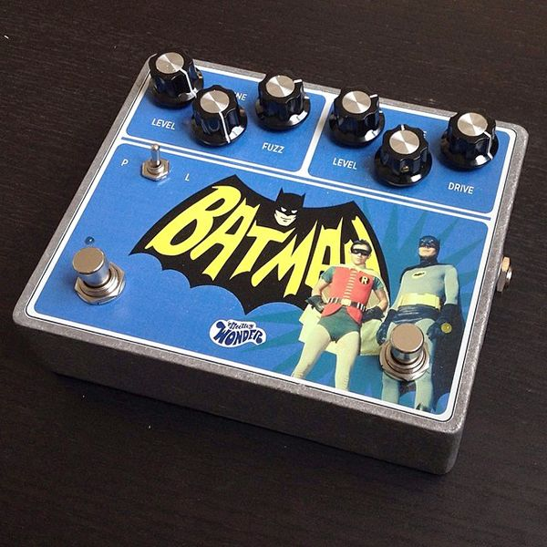Image result for batman guitar pedal