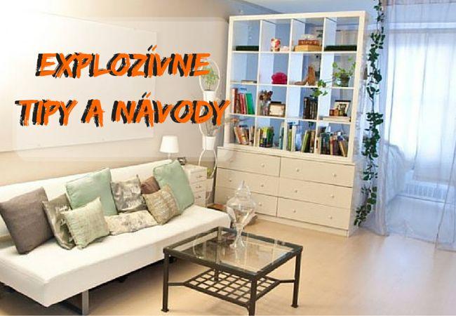 Zdroj:inhabitat.com      Malý byt rovná sa málo priestoru. My vám prinášame niekoľko riešení, ako ušetriť priestor v byte.        Ak žijete v byte, tak určite viete, aké je dôležité mať čo najviac priestoru. Hoci môžete mať aj viacero m...