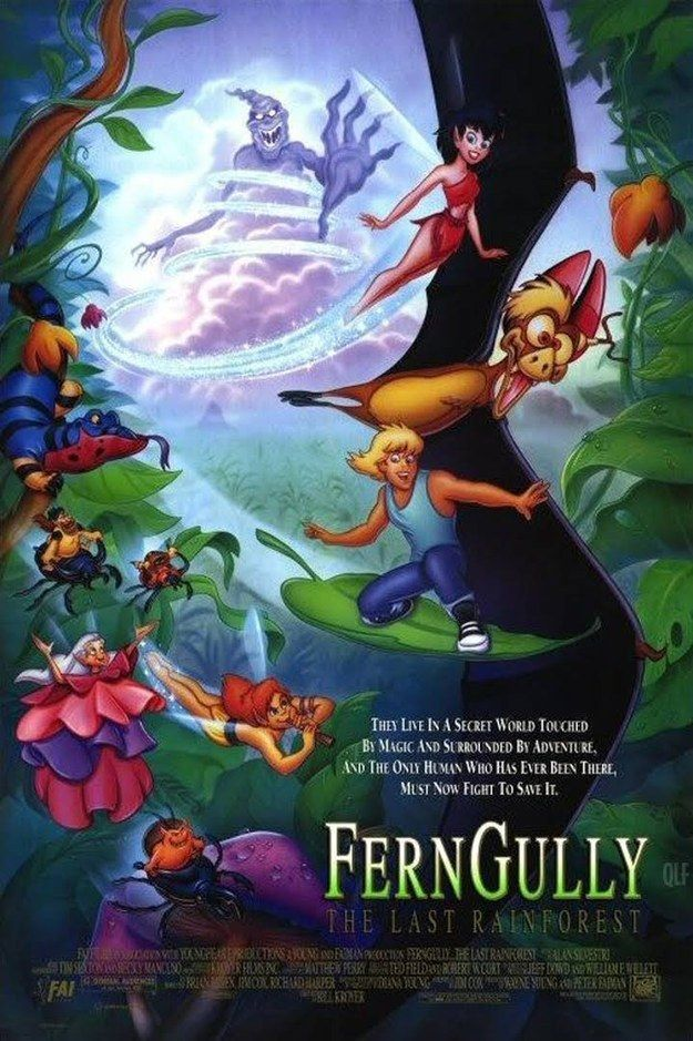 FernGully (1992) | 31 Of The Most Underrated Kids Movies From The '90s