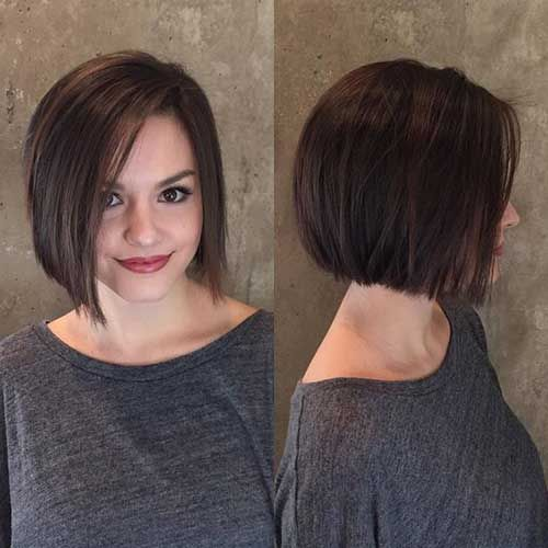 15. Short Hairstyle for Straight Fine Hair