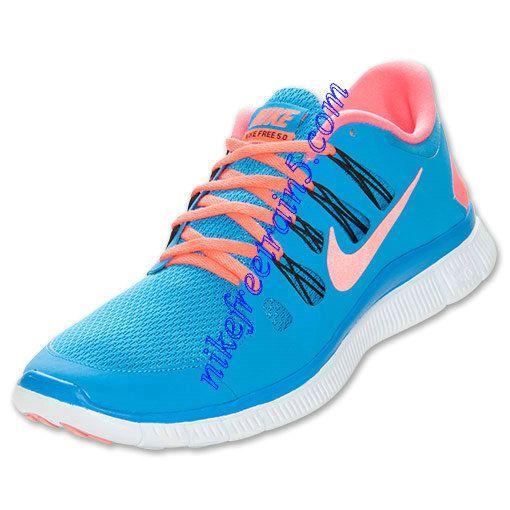 big sale be8ae 9c880 Buy The Cheap Nike Free 5.0 Mens Blue Hero Red 579959 464