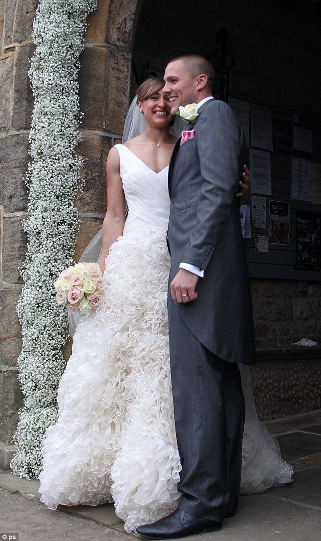 Olympic Gold medalist Jessica Ennis  wedding to childhood sweetheart, Andy Hill