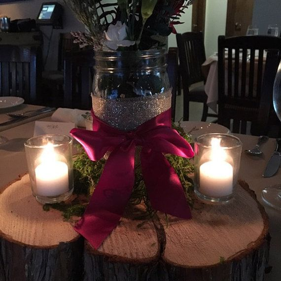 """$5, about 11""""x2""""    Juniper Log Cookies for weddings Centerpieces log slice"""
