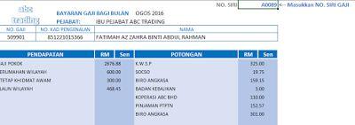 Template Slip Gaji Malaysia V1.00