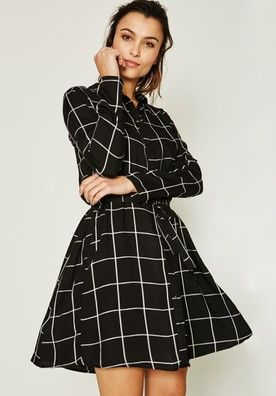 Robe Chemisier Femme Noir Robes Femme Promod Quiero