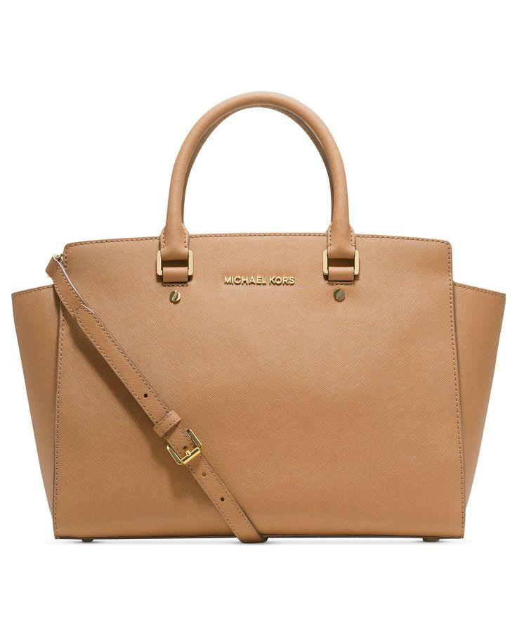 MICHAEL Michael Kors Handbag, Selma Large East West Satchel - MICHAEL  Michael Kors - Handbags