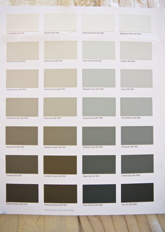 56 Best Images About Paint Colors On Pinterest Sherwin