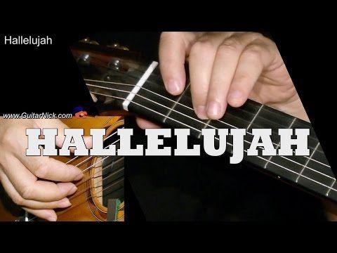 HALLELUJAH: Easy Guitar Lesson - GuitarNick.com