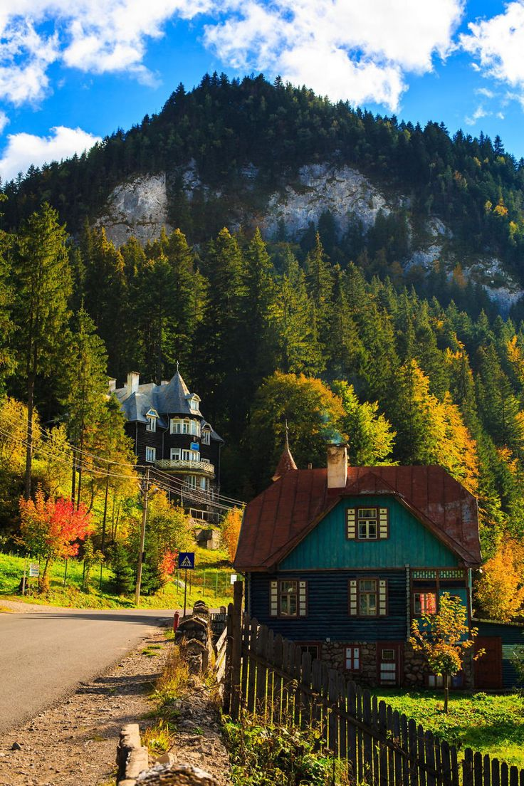 Does It Look Like A Village From Switzerland? Maybe. But It's In Romania This is a village from the Bicaz Keys. And it's beautiful. And, again, a lot cheaper than any Switzerland village.
