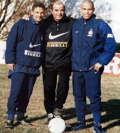 interromania: Roberto Baggio, Mario Corso and Ronaldo