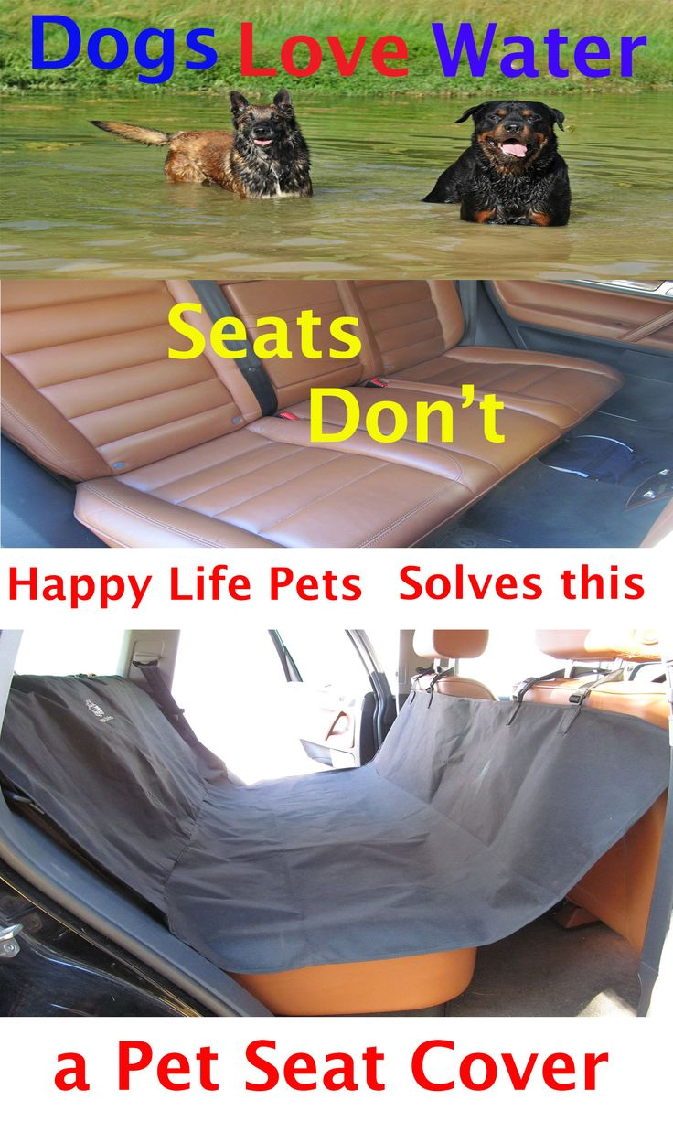 Protect your seat from water, mud and toe nails. Our Pet Seat Cover is sold on Amazon -http://www.amazon.com/dp/B00YK1FZZ0