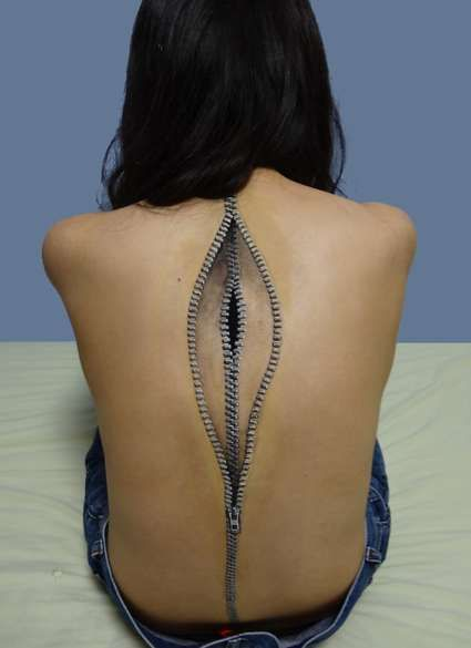 Incredible Body Art By Chooo San
