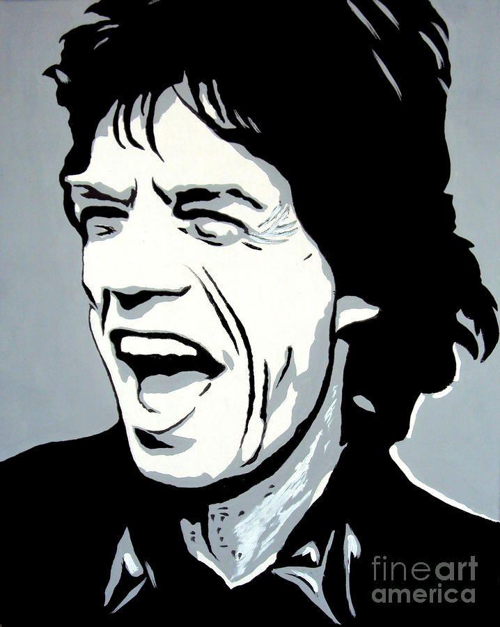 Mick Jagger Painting - Mick Jagger by Sam Sakharia
