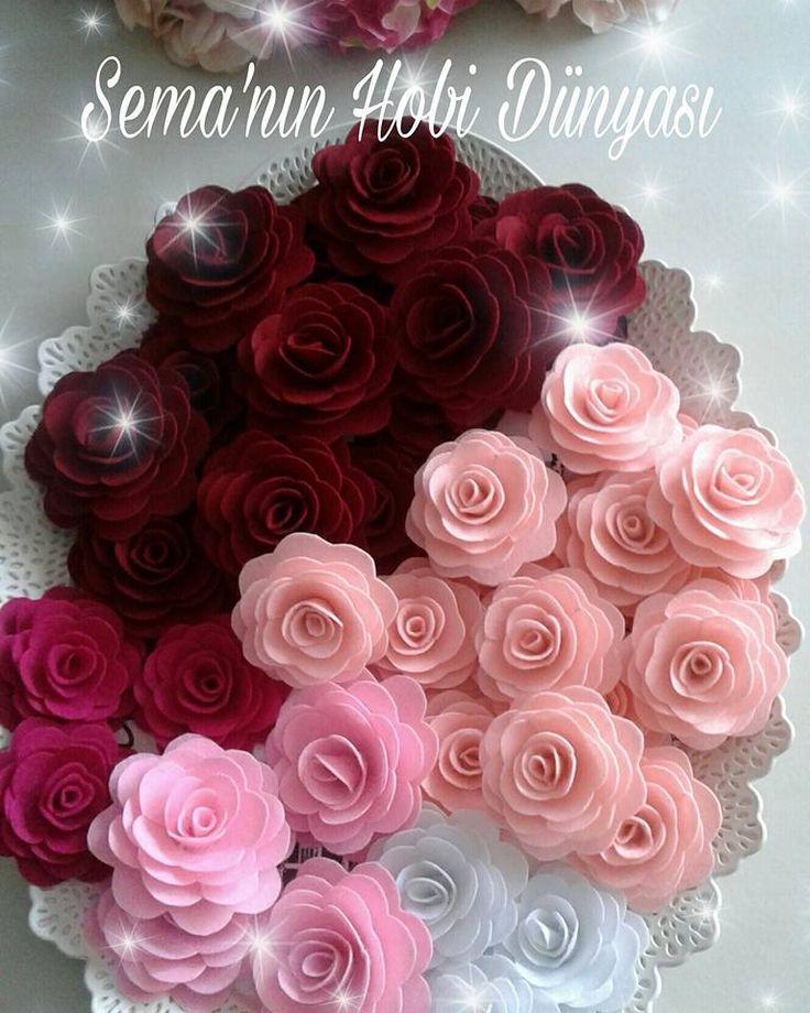 Sema'nın Hobi Dünyası Keçe Güller