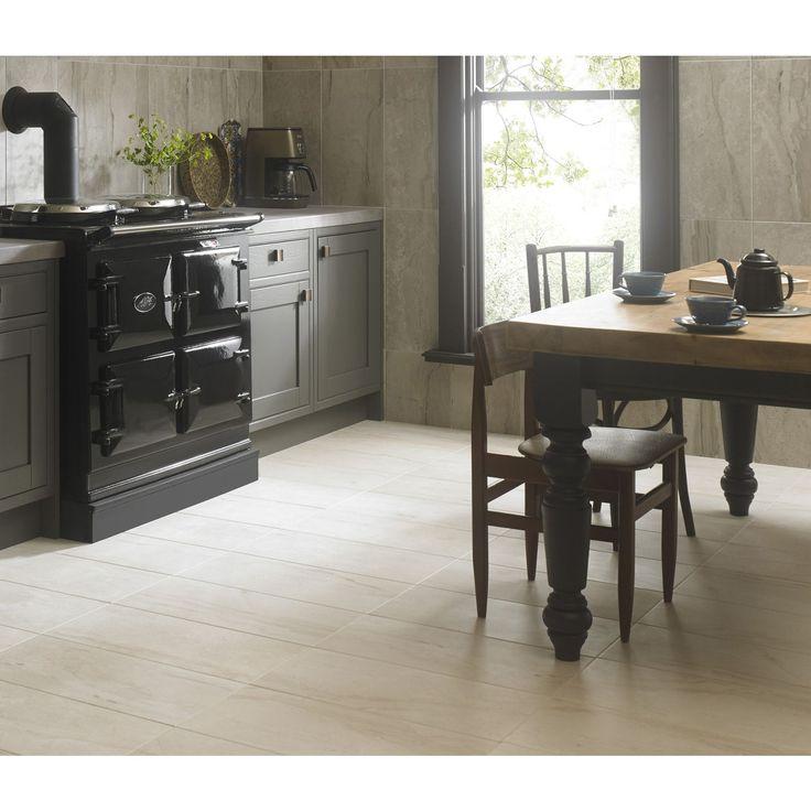 Indulgent Cream Wall & Floor Tile   6 pack   Homebase in ...
