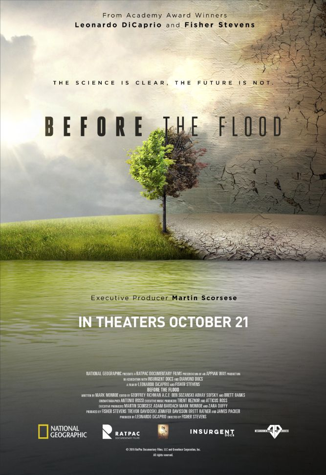 Making its international premiere this week at the Toronto Film Festival, the documentary Before the Flood is global travelogue of a world in...