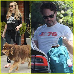 Amanda Seyfried & Husband Thomas Sadosky Enjoy Family Outing in LA