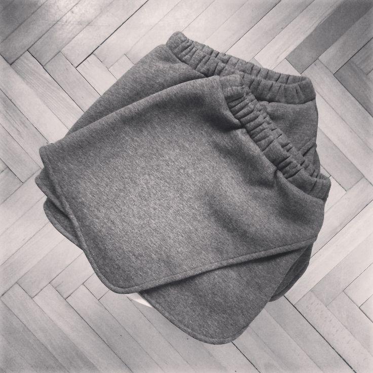 #skirt #gray #minimal #girl #kids www.malistore.pl