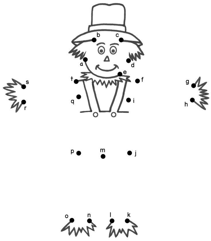 scarecrow abc dot to dot