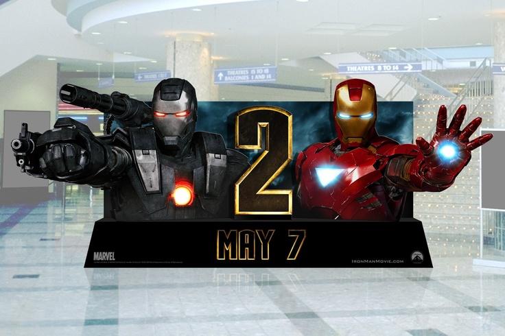 Iron Man 2. Lights up.