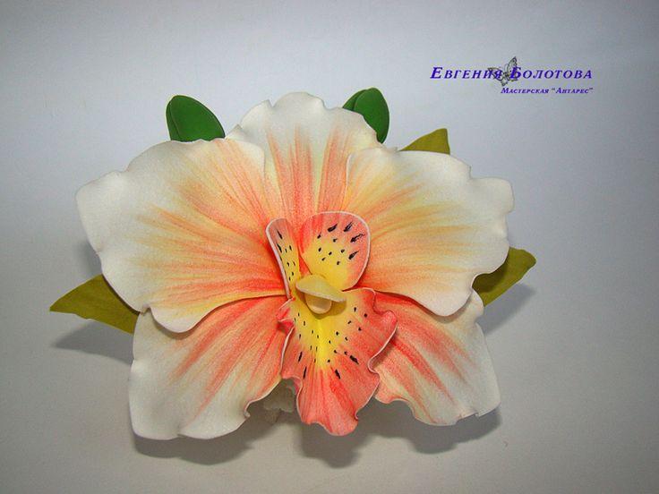 Орхидея из ревелюра