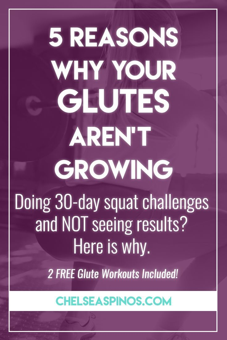 Stop wasting your time with squat challenges and bodyweight glute kickbacks. Here is why your glutes aren't growing! Get real results with the correct glute training.
