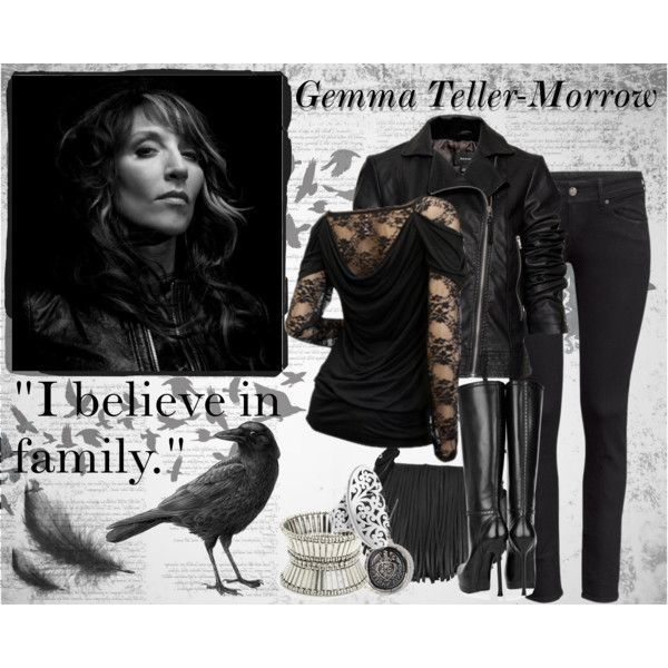 Gemma Teller-Morrow, created by taniaa on Polyvore