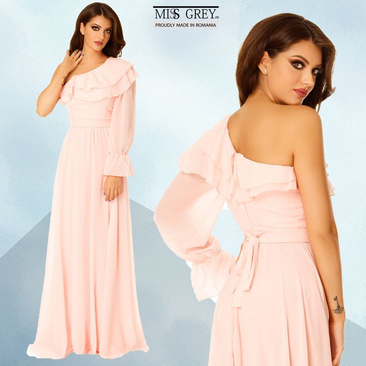 Looking for a dress that will bring out your romantic and feminine side? The Ada pink dress will win you over with its elegance and refinement