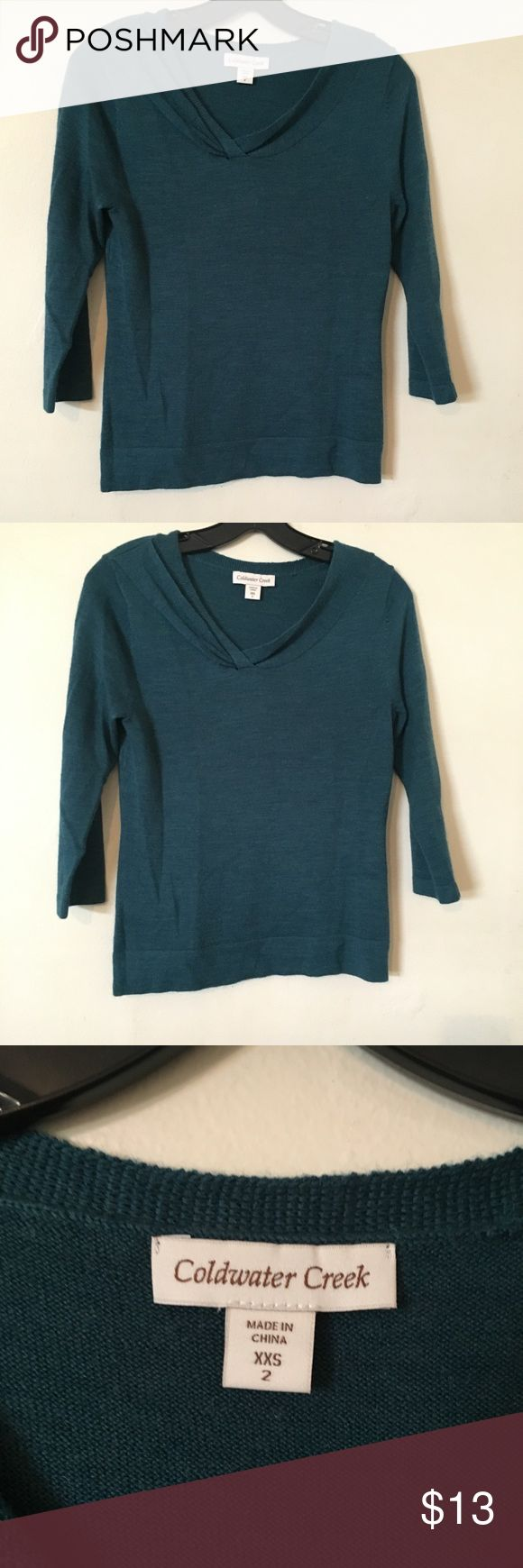 Coldwater Creek sweater size xxs Coldwater Creek sweater size xxs in good condition Coldwater Creek Sweaters