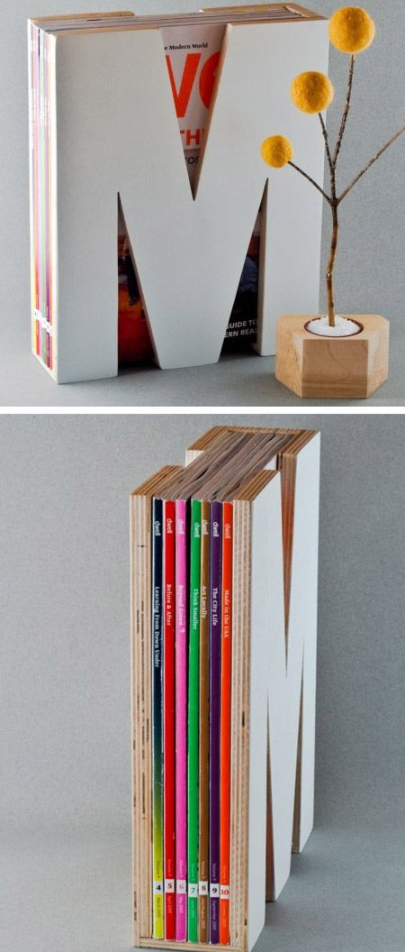The Bukan Magazine Holder just seems like a bookshelf at a glance, but it will keep the magazine collection neatly stored and blend in as the interior decoration of the house. (Link)          This is a trained dog, so you won't need to yell at your best friend this time when he picks up your magazines and newspapers! Designed by Rafael Morgan and P Hendrikx from Studio Mango. (Link)          A highly v